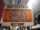 AGN Leather Belts