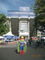 Market Man at UD Football